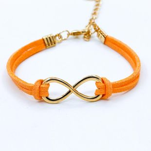 Fashion symbol 8 word twine bracelet NHDP154413's discount tags