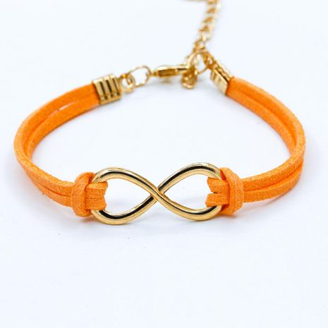 Fashion symbol 8 word twine bracelet NHDP154413's discount tags