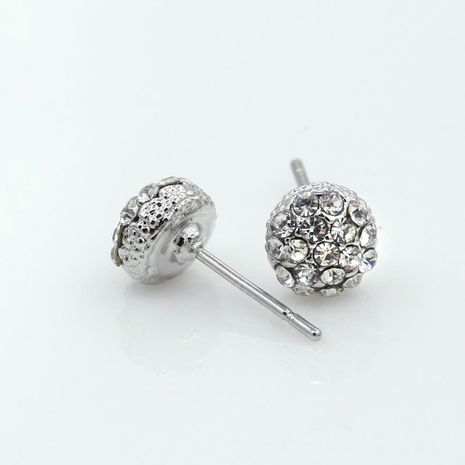 Fashion full diamond stud earrings NHDP154441's discount tags