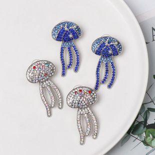Fashion micro-studded eye alloy earrings NHJJ154471's discount tags