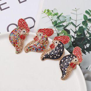 Colored diamond earrings NHJJ154476's discount tags