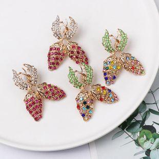 New color diamond stud earrings NHJJ154479's discount tags