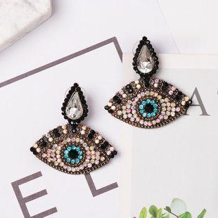 Fashion Diamond Eye Stud Earrings NHJJ154487's discount tags
