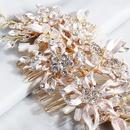 Stylish and beautiful handmade rhinestone plug hair accessories NHHS154272