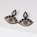 Fashion Diamond Eye Stud Earrings NHJJ154487
