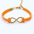 NHDP342318-Orange-8-word-bracelet-8070