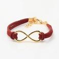 NHDP342322-Wine-red-8-word-bracelet-5647