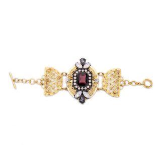 Otras aleaciones con tachuelas de diamantes para mujer Pulsos y brazaletes NHQD154535's discount tags