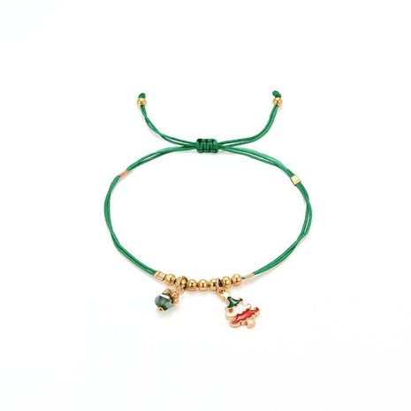 Fashion simple handmade cotton rope alloy bracelet NHXS154564's discount tags