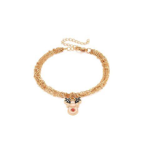 Fashion Christmas Elk Women's Alloy Bracelet NHXS154571's discount tags