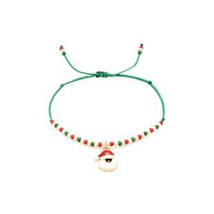 Pulsera tejida a mano de Santa Claus NHXS154583's discount tags