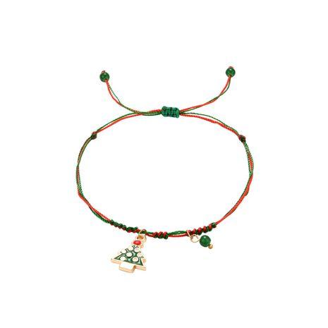 Stylish minimalist Christmas tree pendant bracelet NHXS154587's discount tags