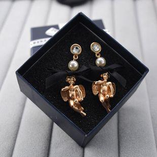 Pendientes de arco de ángel de muñeca salvaje de moda NHNT154645's discount tags