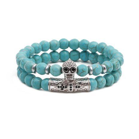 Ensemble de pierres naturelles bracelets perles bracelet turquoise énergie NHYL154659's discount tags