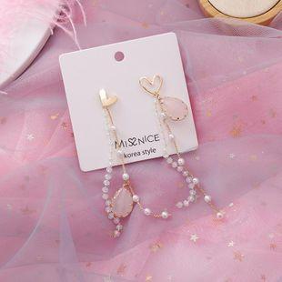 Aretes de borla de perlas de gota de agua NHMS154724's discount tags
