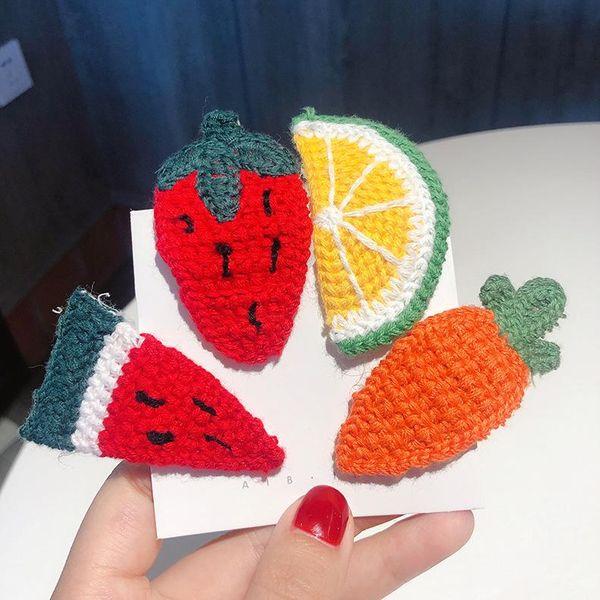 Clip de BB de horquilla de fruta de lana de color dulce NHMS154744