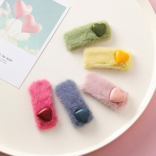 Horquilla de felpa rectangular de amor dulce NHMS154753's discount tags