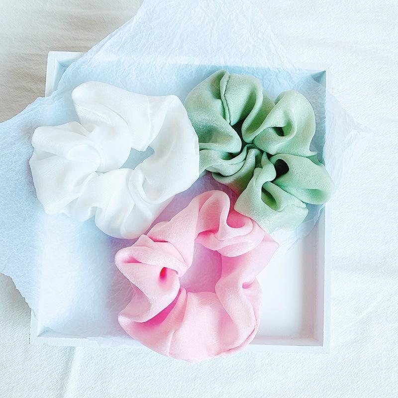 Cuerda de cabello de gasa de color de té de leche dulce NHOF154762
