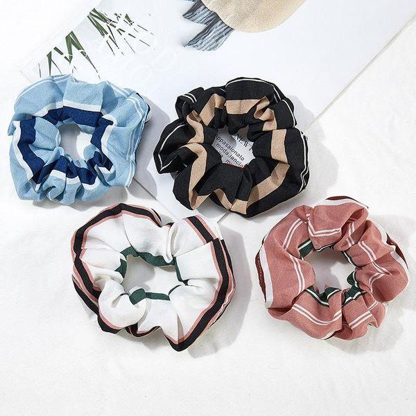 Cuerda elástica de tela a rayas de moda NHOF154775