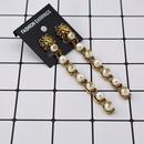 Domineering Freshwater Pearl Lion Head Earrings NHNT154528