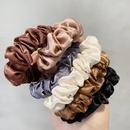 Anillo de pelo satinado de color slido de moda NHOF154773
