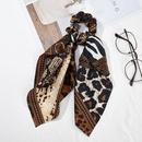 Cinta larga de leopardo de color mixto con anillo de gasa NHOF154794