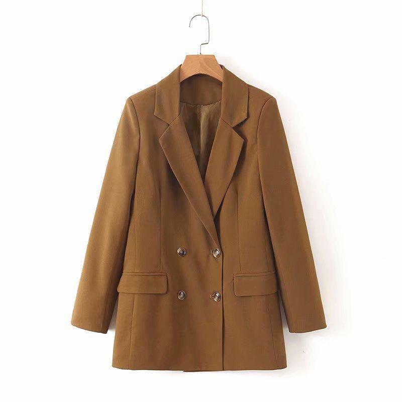 Loose temperament casual waist retro small suit jacket NHAM154816