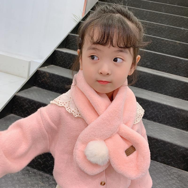 Korean version of solid color imitation rabbit fur rabbit warm ears collar NHTZ154973