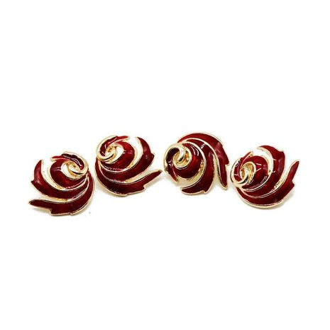 Popular spiral flame ear clip NHOM154999's discount tags