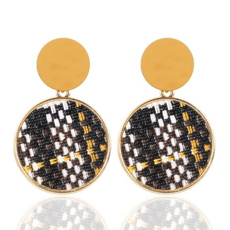 Vintage snake pattern creative woven earrings NHCT155034's discount tags