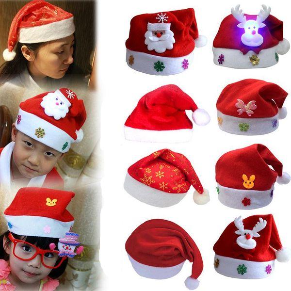 Christmas red hat adult child NHMV155195