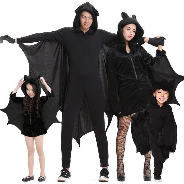 Halloween Cosplay costume bat costume stage costume parent-child costume show costume NHFE155199