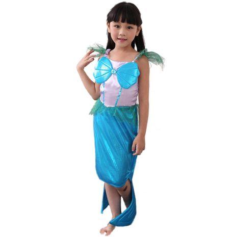 Halloween Mermaid Princess Dress NHFE155202's discount tags