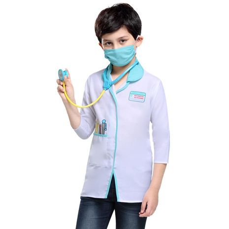New Halloween cosplay children doctor party costume NHFE155212's discount tags