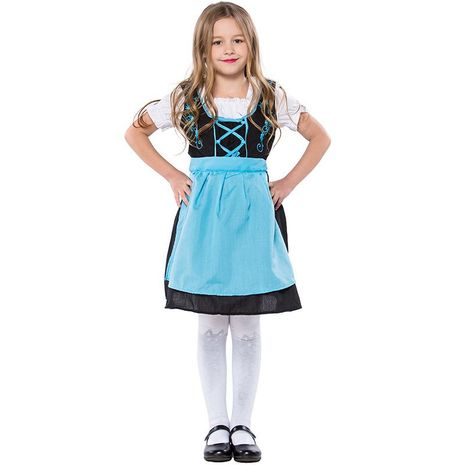 Halloween cosplay German Oktoberfest children's performance clothing NHFE155223's discount tags