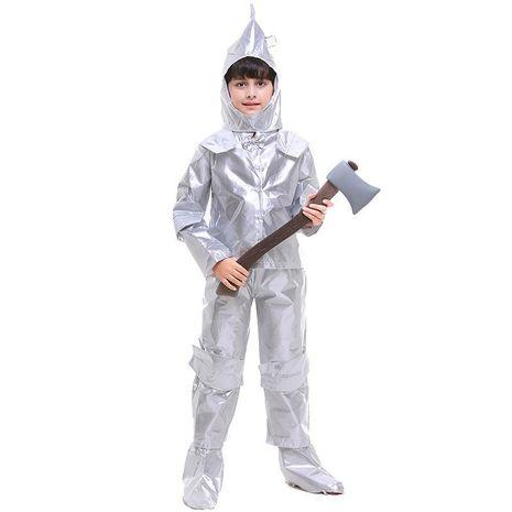 COS Halloween Tin Man Boys Costume NHFE155225's discount tags