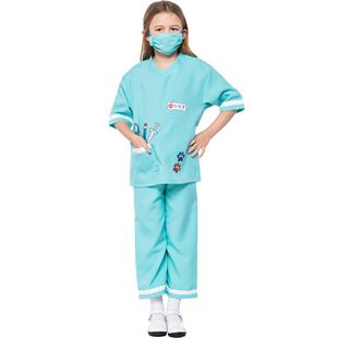 Halloween cosplay doctor children's clothing NHFE155231's discount tags
