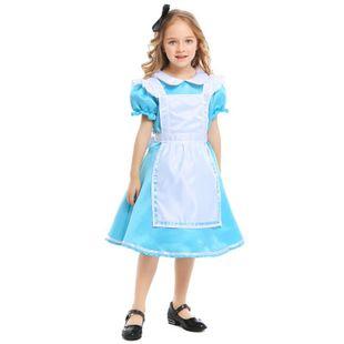 New girls costumes, Halloween princess dress, maid wear NHFE155233's discount tags
