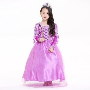 Princess skirt anime children's skirt Halloween stage performance clothing parent-child wear NHFE155236's discount tags