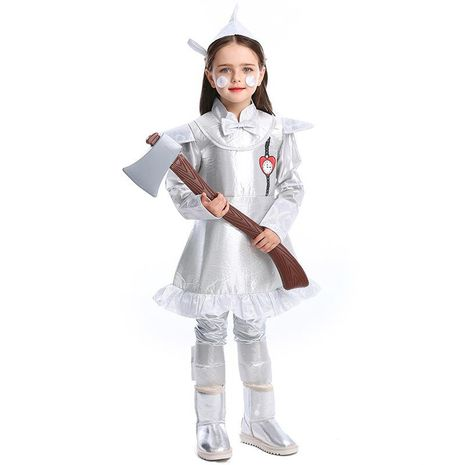 Halloween Tin Man COS Costumes Fairy Oz NHFE155239's discount tags