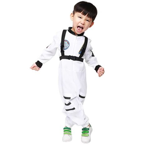 Halloween cosplay costume child pilot uniform NHFE155238's discount tags