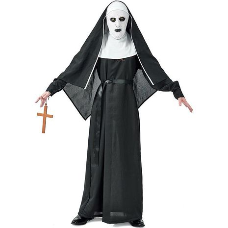 Halloween party party ghost nun devil cosplay costume NHFE155245's discount tags