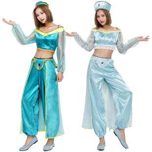 Halloween cosplay Arabian princess costume Indian dancer costume NHFE155246's discount tags