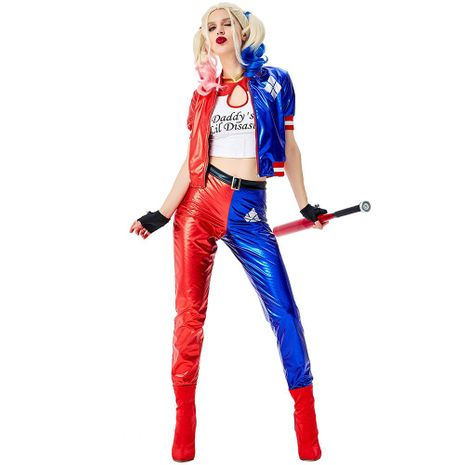 Halloween suicide squad circus cosplay costume NHFE155249's discount tags