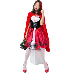 Halloween cosplay little red hood adult costume NHFE155251's discount tags