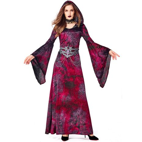 Halloween cosplay witch theme party magician costume NHFE155255's discount tags