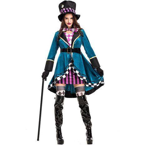 Halloween costume adult female magician performance clothing NHFE155260's discount tags