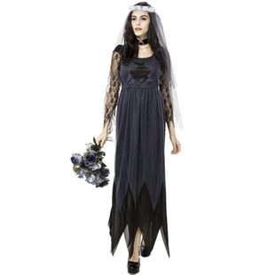 Lace side tulle ghost bride female models Halloween cosplay clothes NHFE155265's discount tags