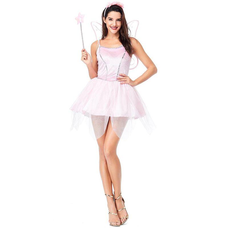 Halloween cosplay pink wings angel costume NHFE155277