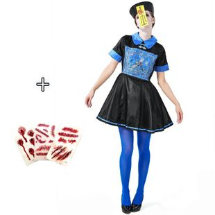 Halloween Zombie Dress Ghost Festival Party Adult Female Dress NHFE155278's discount tags